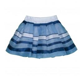 Falda de organza