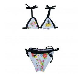 Bikini estampado para niña