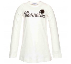 Camiseta Monnalisa Panna
