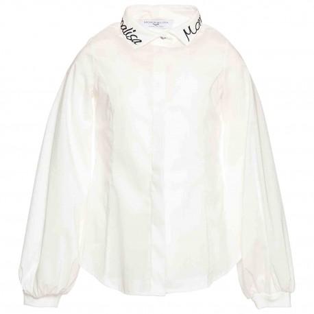 Blusa C / Bordado En Cuello